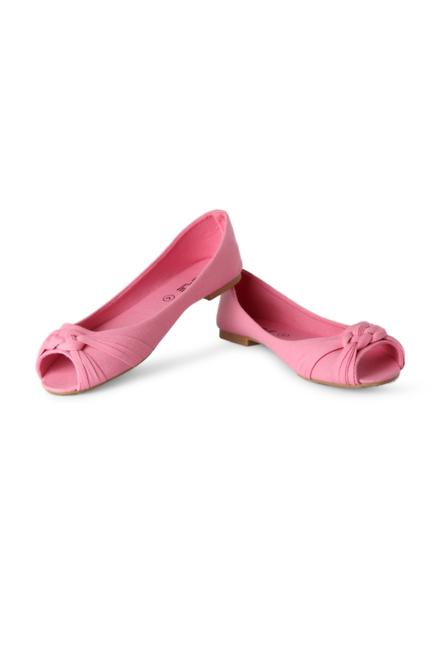 People Pink Peep Toes